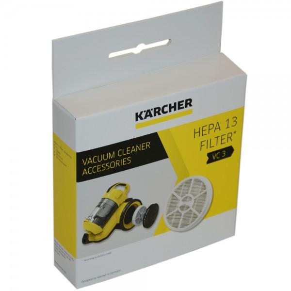 HEPA Filter 13 Feinstaub Hygienefilter 2.863-238.0 für Kärcher Staubsauger VC3