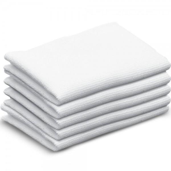5x Frottee Tücher schmal Bodentuch Reinigungstuch für Kärcher Bodendüse