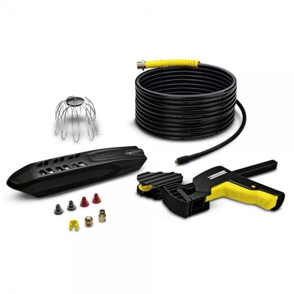 Reinigungsset PC 20 für Hochdruckreiniger zur Dachrinnen und Rohr Reinigung