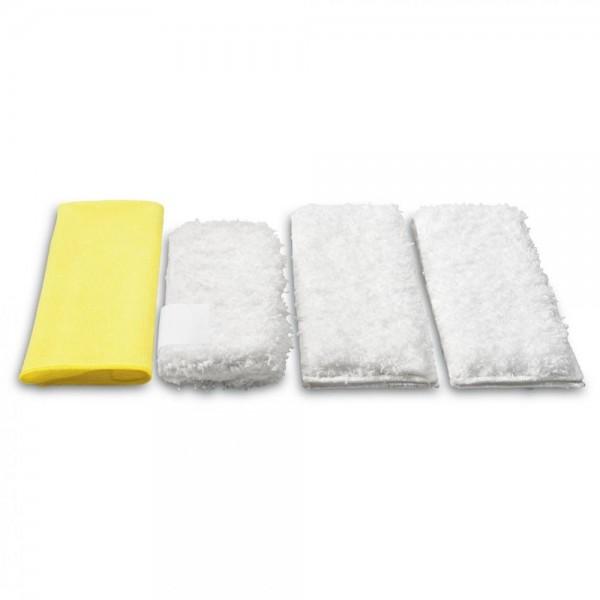 Mikrofaser Tuchset Küche Reinigungstücher Putzlappen für Dampfreiniger