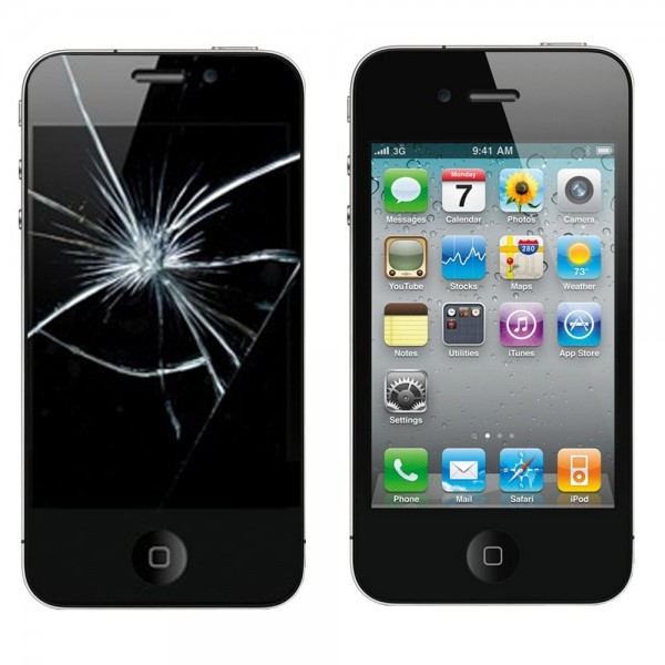 Apple iPhone 4 Display - Glasscheibe Reparatur