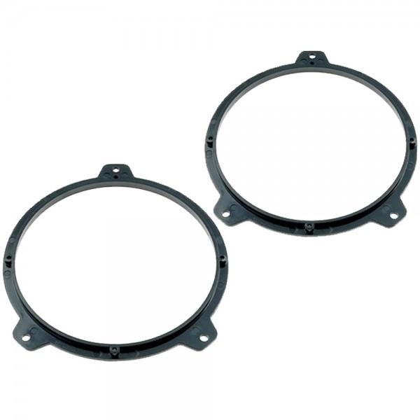 Lautsprecherrahmen 165mm für BMW 3 -er Reihe E46 Lautsprecher Adapter Ringe