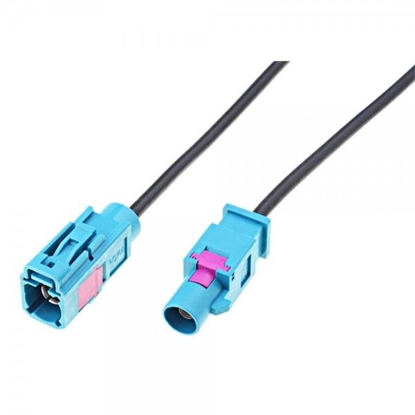 KFZ Autoradio Fakra Antennenkabel Antennenverlängerungskabel 1m Buchse - Stecker