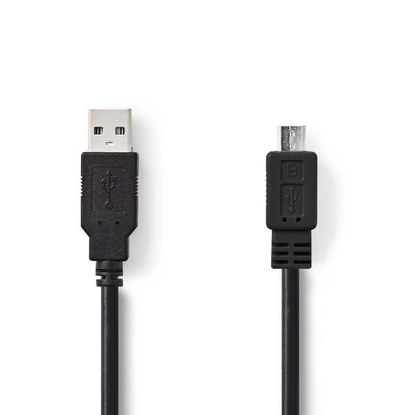2m USB Kabel USB 2.0 Stecker Typ A - micro USB Stecker Typ B