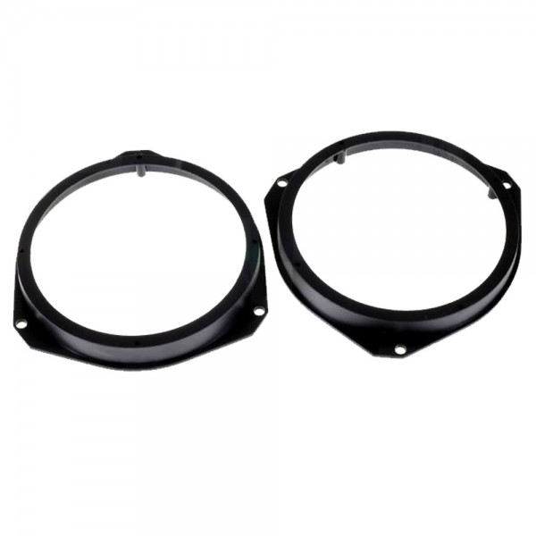 Auto Lautsprecherrahmen Lautsprecher Adapter Ringe für Peugeot