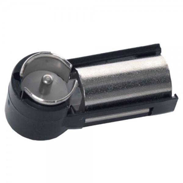 Autoradio Antennenadapter Winkel Adapter DIN Buchse auf ISO Stecker